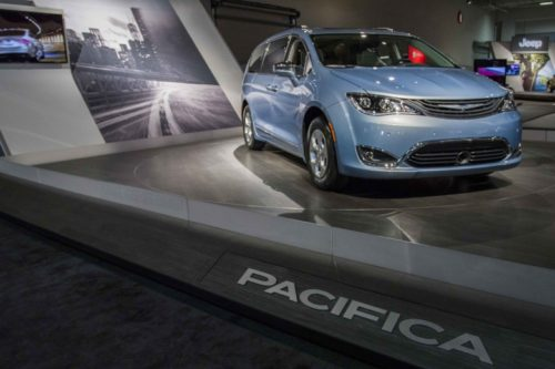 Chrysler Pacifica Recall